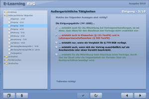E-Learning RVG - Multiple Choice Übung