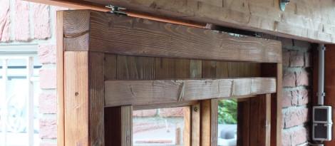 Schiebetür carport  Schiebetür im Carport – mein Senf