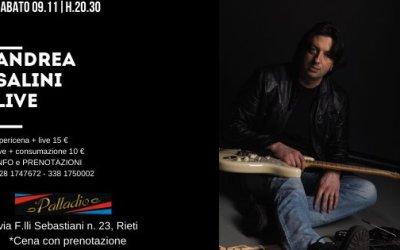 LIVE @PALLADIO | SABATO 09.11