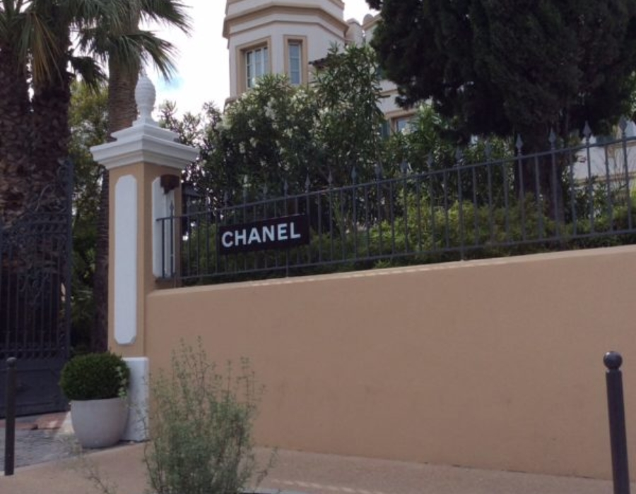 Chanel boutique, Saint Tropez, France