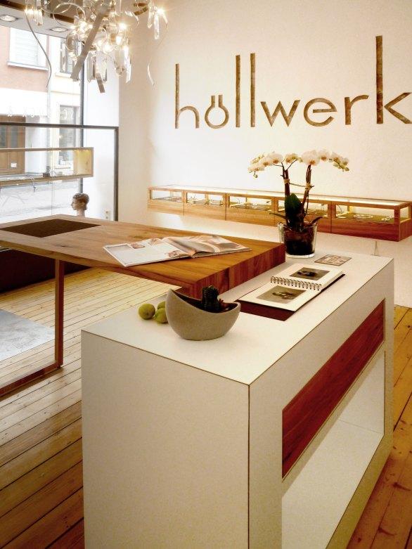 Ladenbau Goldschmiede, Interior Design
