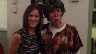 Grandma with Sabrina Risley