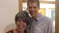 Grandma Mary with Brian - the Startup Guru