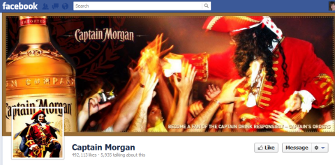 Captain Morgan - Timeline cover