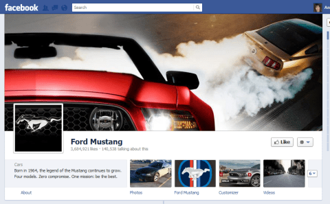 Ford - creative timeline cover