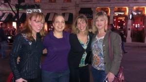 Amy Harrison, Jen Waak, myself, and Pamela Wilson