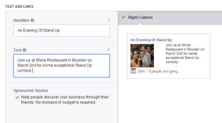 Facebook Event Response