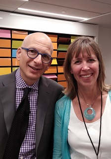 Andrea Vahl and Seth Godin