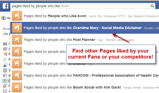 Facebook Graphsearch