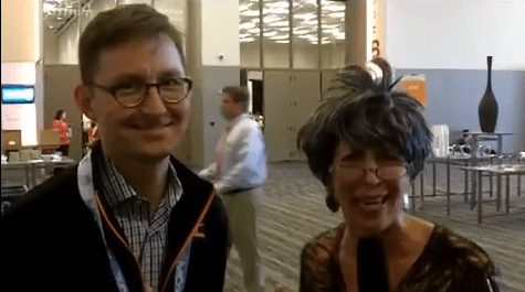 Grandma Mary Interviews Andy Crestodina at #CMWorld