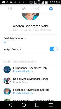 Groups app