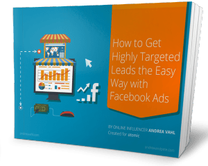 Highly Targeted Leads with Facebook Ads 3d