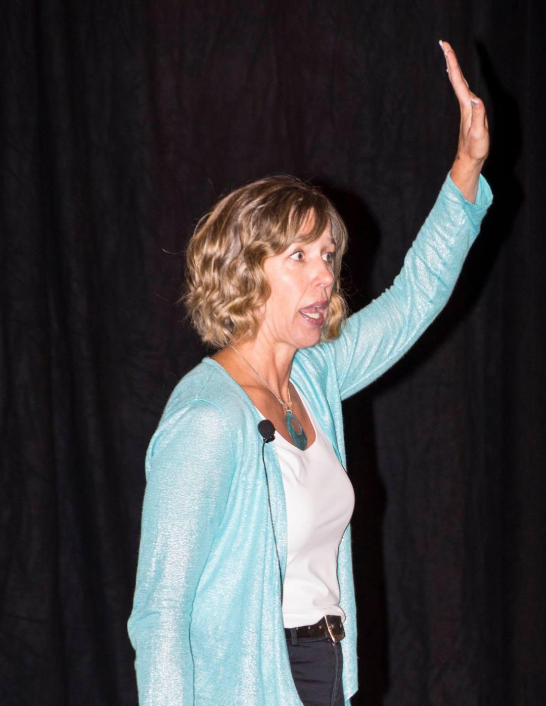 Speaking at AMLive