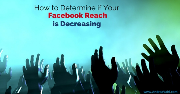 Facebook Reach decreasing