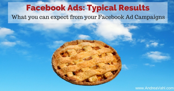 Facebook Ads Typical Results