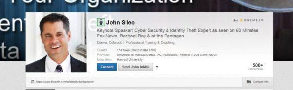 John Sileo LinkedIn