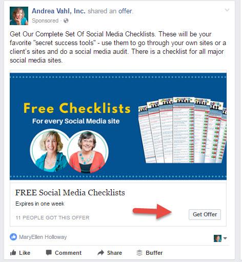 Facebook Offer Ads