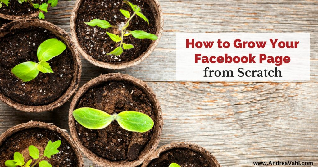 How to Grow Your Facebook Page from Scratch