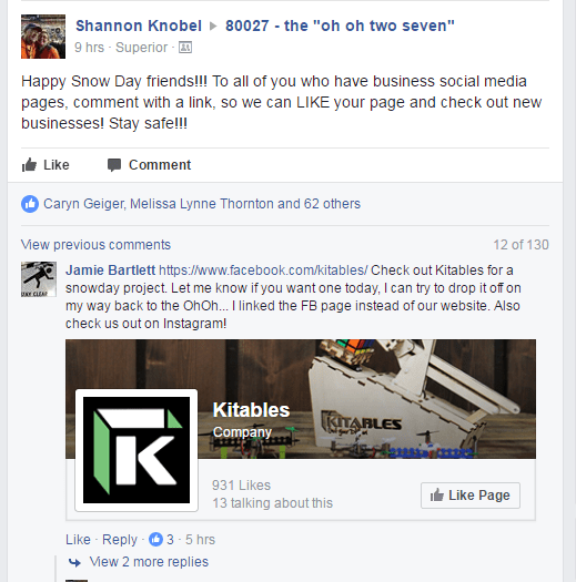 Encourage connection in Facebook Groups