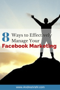 Manage Your Facebook Marketing