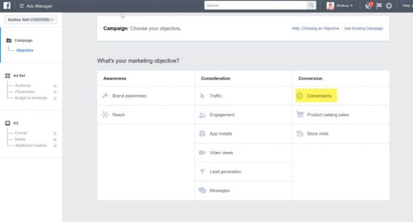 Facebook Ad Conversions