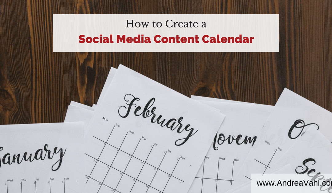 How to Create a Social Media Content Calendar in 4 Easy Steps