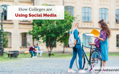 How Colleges are Using Social Media