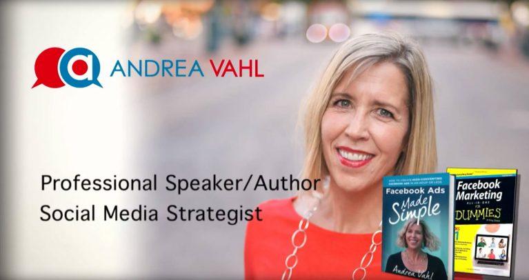 Social Media Speaker - Andrea Vahl