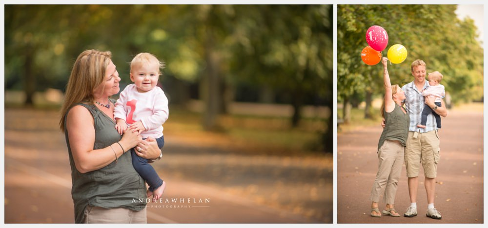 1st Birthday Photo shoot in Greenwich Park