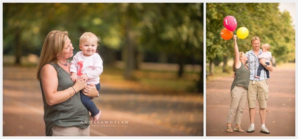 1st Birthday Photo shoot in Greenwich Park