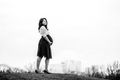 Greenwich park maternity photo session