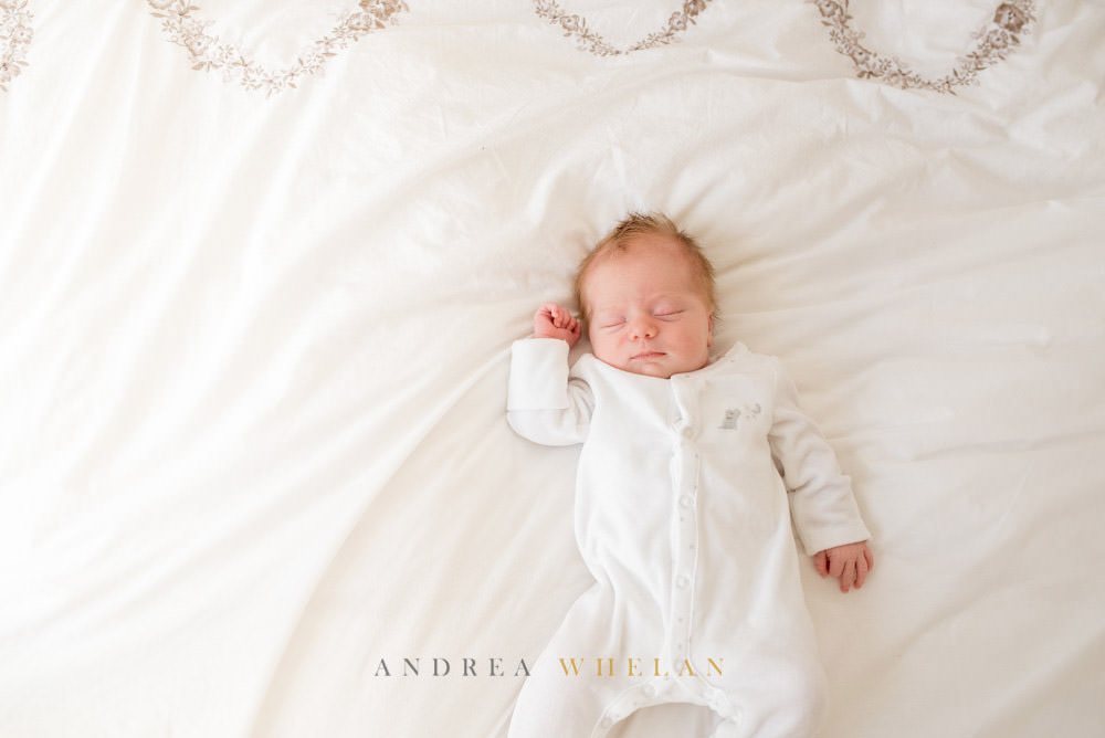 Newborn London baby photo session in London