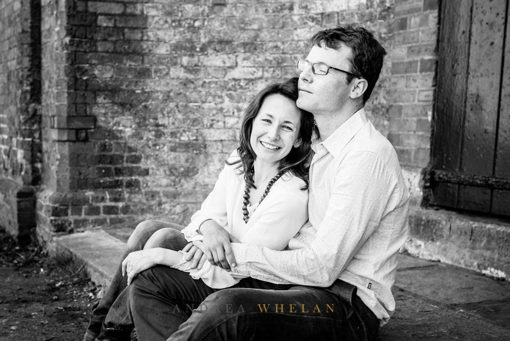 couples shot on family session