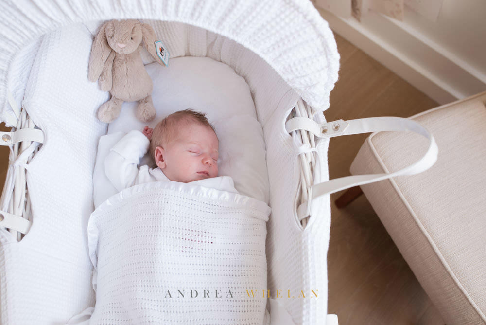 Newborn portrait session London