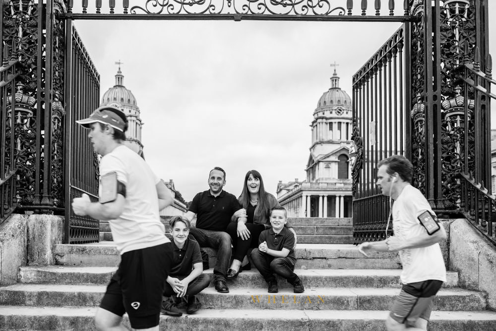 Andrea Whelan Photography family portrait Greenwich