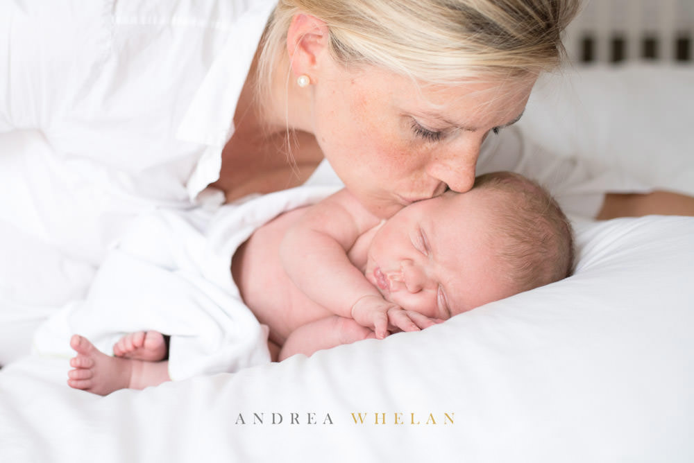 Mother and baby photo session South Kensington