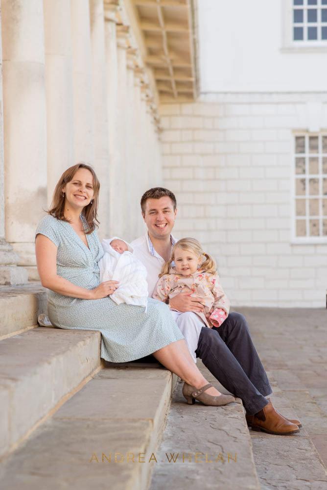 newborn family portrait London