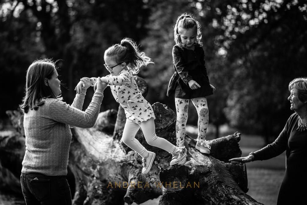 Jumping in Charlton Park