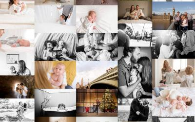 A year of Family Photography in London