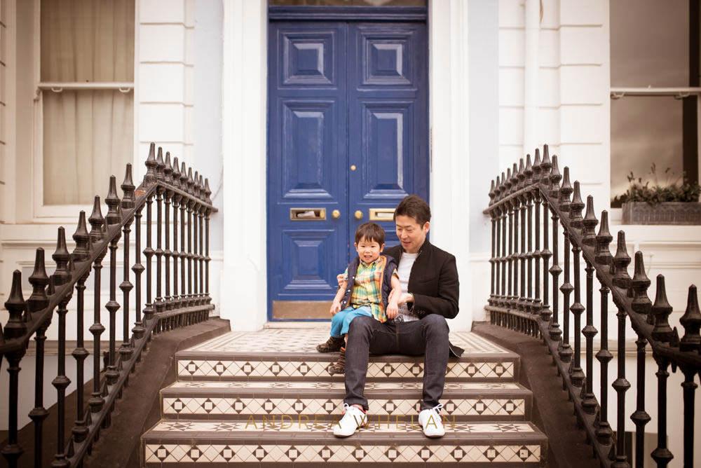 urban family session london