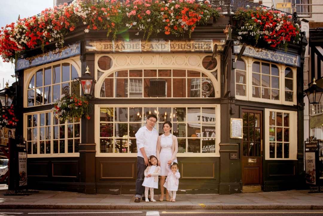 Urban family photographer london