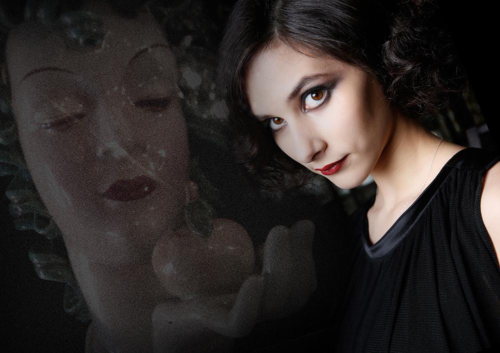 Make up Artist Visagistin für Fashion Editorial
