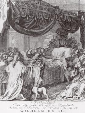 William III's Deathbed. Image: Art.com