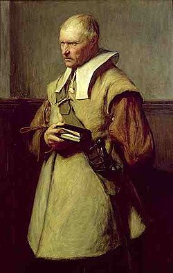 Puritan Roundhead by John Pettie