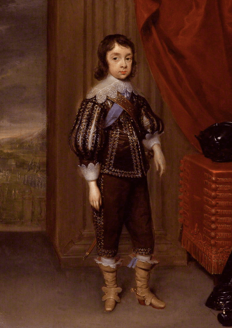 King Charles II by Cornelius Johnson. Image: National Portrait Gallery, London.