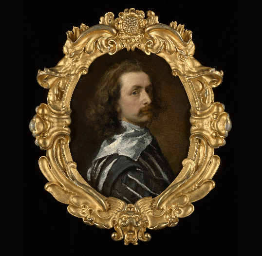 Self-portrait by Van Dyck, 1640/41 © Philip Mould & Co.