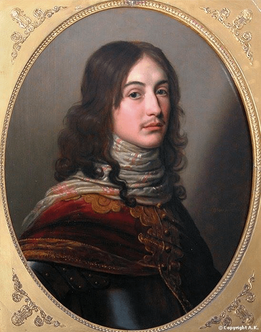 Portrait de Robert (Rupert), duc de Cumberland by Honthorst. Image: A.K. via The Stuart Kings Tumblr