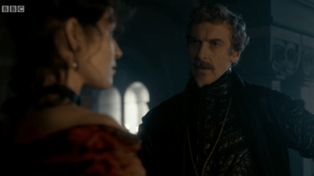 Capaldi as Richelieu