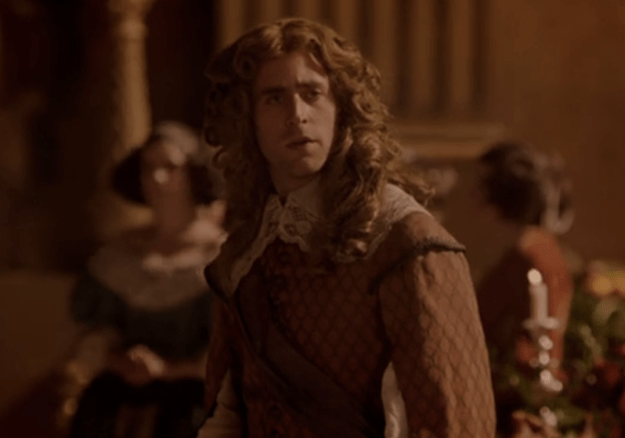 Oliver Jackson-Cohen as James, Duke of York. ITV's The Great Fire