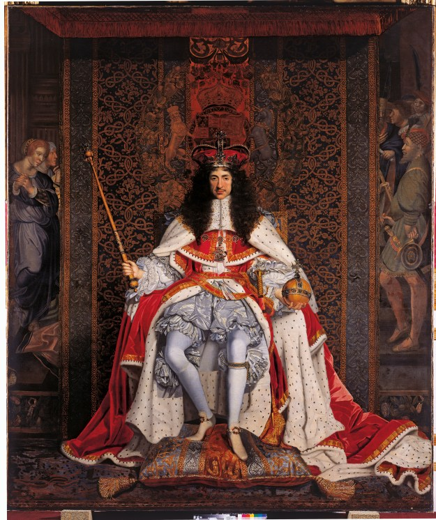 Charles II in Coronation Robes, John Michael Wright, 1661-6, Royal Collection Trust © Her Majesty Queen Elizabeth II 2015